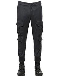 Pantalón cargo en gris oscuro de Neil Barrett