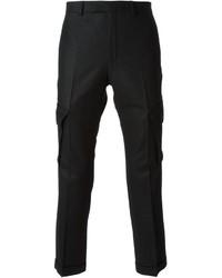 Pantalón cargo negro de Kris Van Assche