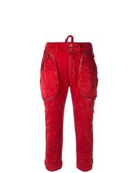 Pantalón cargo rojo de Faith Connexion
