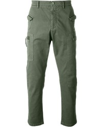 Pantalón cargo verde oliva de No.21