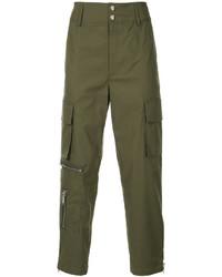 Pantalón cargo verde oliva de Public School