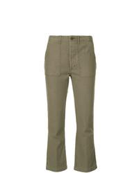 Pantalón cargo verde oliva de R13