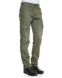 Pantalón cargo verde oliva de rag & bone