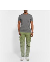 Pantalón cargo verde oliva de Incotex