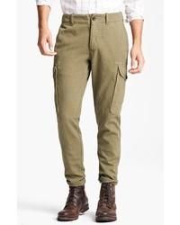 Pantalón cargo verde oliva de Todd Snyder
