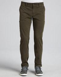 Pantalón cargo verde oscuro de Vince
