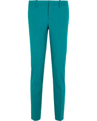 Pantalon carotte bleu canard Gucci