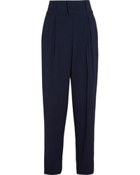 Pantalon carotte bleu marine Fendi