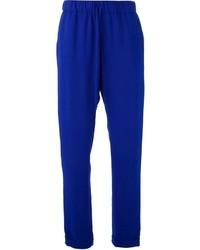Pantalon carotte bleu P.A.R.O.S.H.
