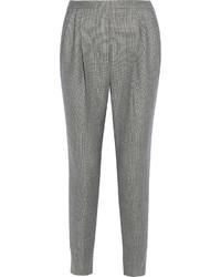 Pantalon carotte gris Fendi