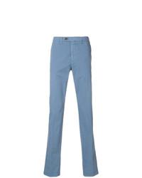 Pantalón chino azul de Canali
