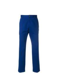 Pantalón chino azul de Gucci