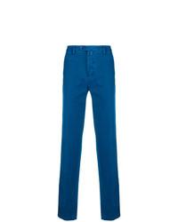 Pantalón chino azul de Kiton