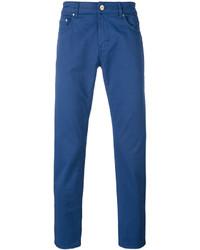 Pantalón chino azul de Pt01