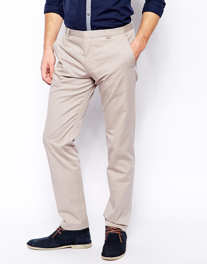 HUGO BOSS Pantalon chino slim 3mJqfGxIL