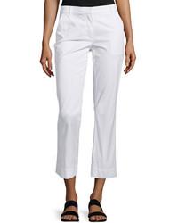 Pantalon chino blanc Theory