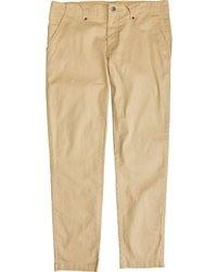 Pantalon chino brun clair
