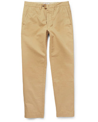 Pantalon chino brun clair Officine Generale