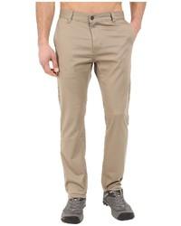 Pantalon chino brun clair Prana
