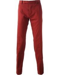 Pantalón chino burdeos de Fendi