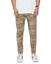 Pantalón chino de camuflaje marrón claro
