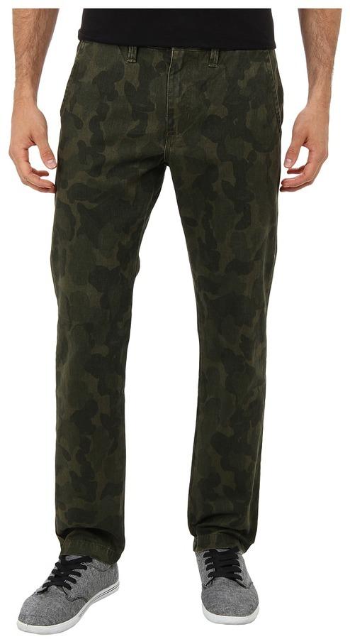 Pantalón Chino Dónde Verde De Y Oscuro Comprar Vans Camuflaje wCwaUO7rxq