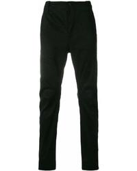 Pantalón chino de lino negro