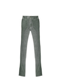 Pantalón chino de pana gris