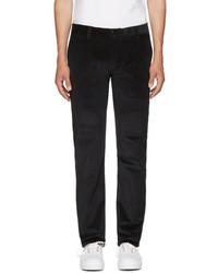 Pantalón chino de pana negro