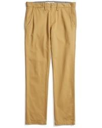 Pantalón chino de sarga marrón claro de Vans