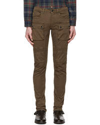 Pantalón chino de sarga marrón de Belstaff