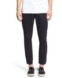 Pantalón chino de sarga negro de Vans