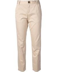 Pantalón chino en beige