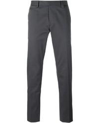 Pantalón chino en gris oscuro de Fendi