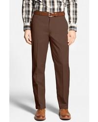 Pantalón chino en marrón oscuro de Bobby Jones