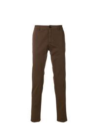 Pantalón chino en marrón oscuro de Department 5