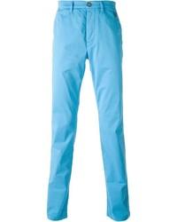 Pantalón chino en turquesa de Kenzo