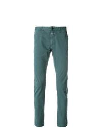 Pantalón chino en verde azulado de Closed