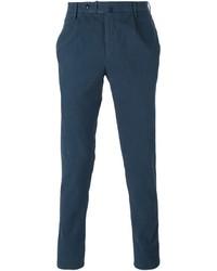 Pantalón chino en verde azulado de Incotex