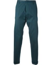 Pantalón chino en verde azulado de Paul Smith