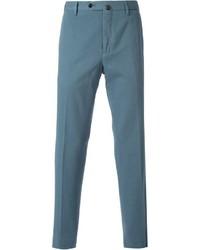Pantalón chino en verde azulado de Pt01