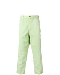 Pantalón chino en verde menta de Comme Des Garcons SHIRT