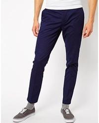 Pantalón chino en violeta