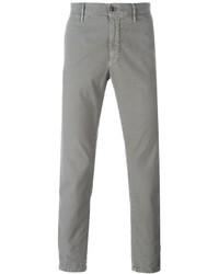 Pantalón chino gris de Incotex