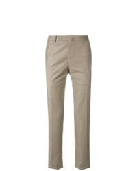 Pantalón chino marrón claro de Biagio Santaniello