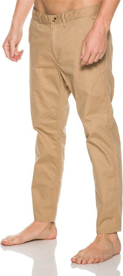 pantalones vans marron