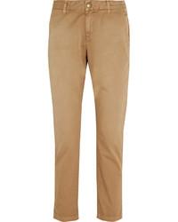 Pantalón chino marrón claro de Current/Elliott