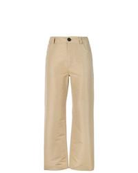 Pantalón chino marrón claro de Marni