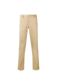 Pantalón chino marrón claro de Prada