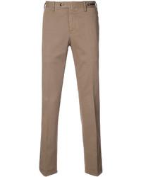 Pantalón chino marrón claro de Pt01